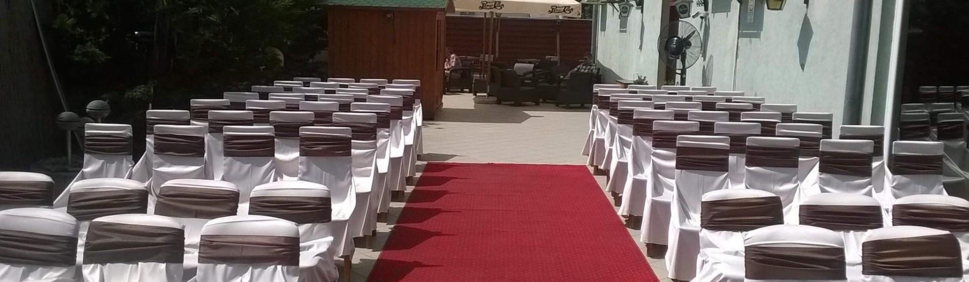 Esküvő terasz